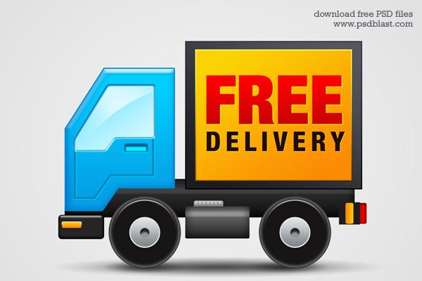 Free-delivery-Icon