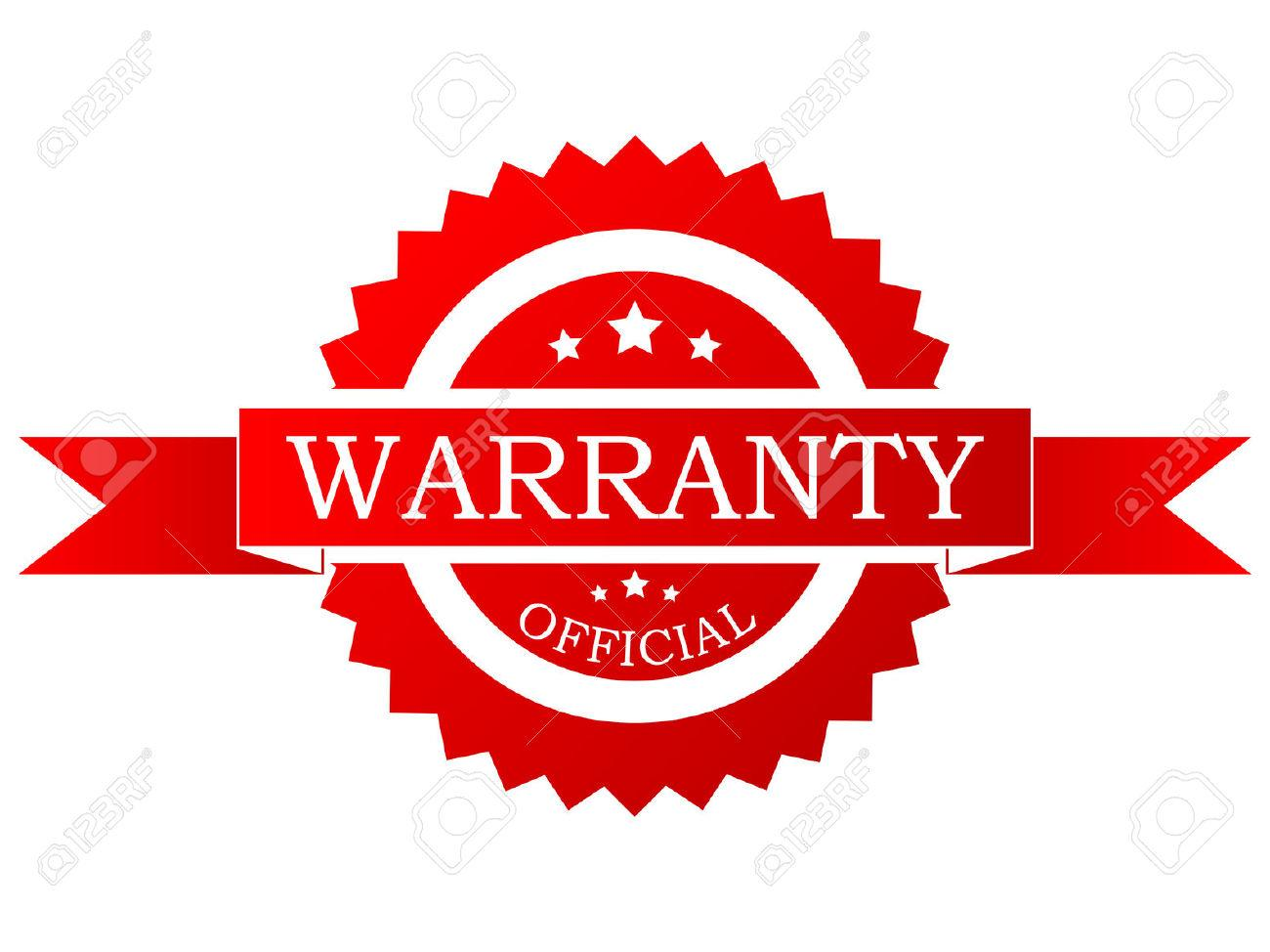 8924599-Vector-red-warranty-label--Stock-Vector-warranty-icon-service